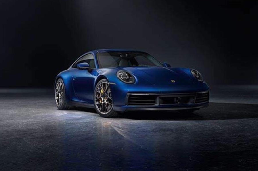 2019 Porsche 911 Images Of New 992 Model Leak Autocar