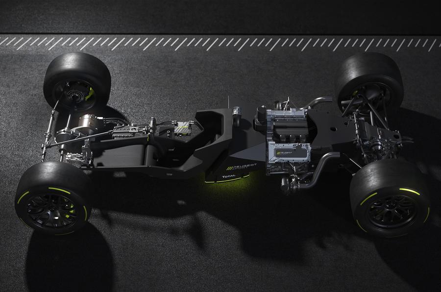 Peugeot reveals powertrain details for 2022 Hypercar