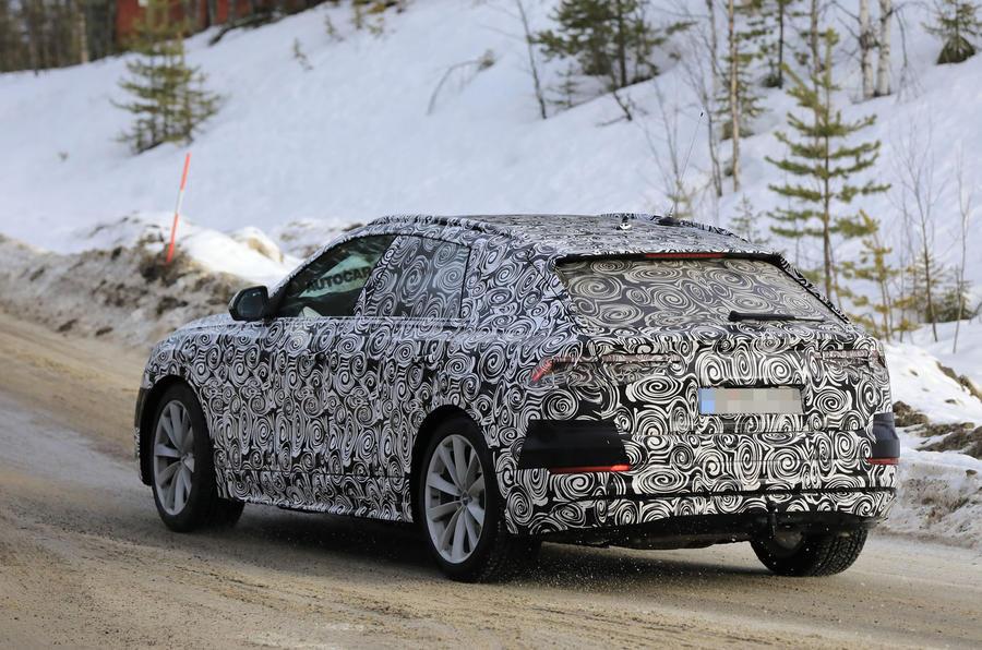 2018 Audi Q8 - new pics