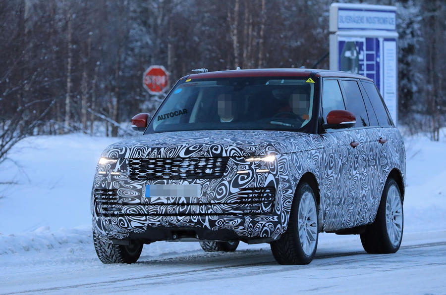 This is the Range Rover Velar, an all-new RR model
