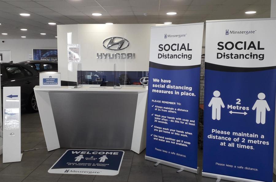 Hyundai Covid-19 safe dealership