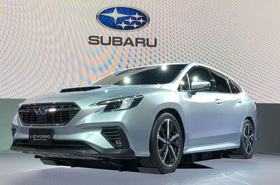Subaru Levorg Introduced With New 1.8-liter Turbo Boxer Engine