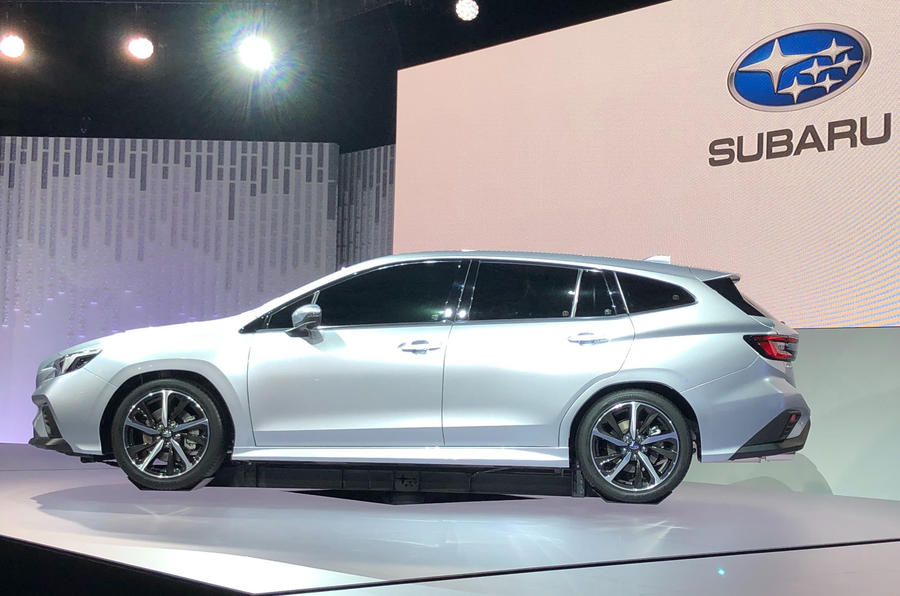 Subaru Levorg prototype debuts with new 1.8-liter turbocharged boxer