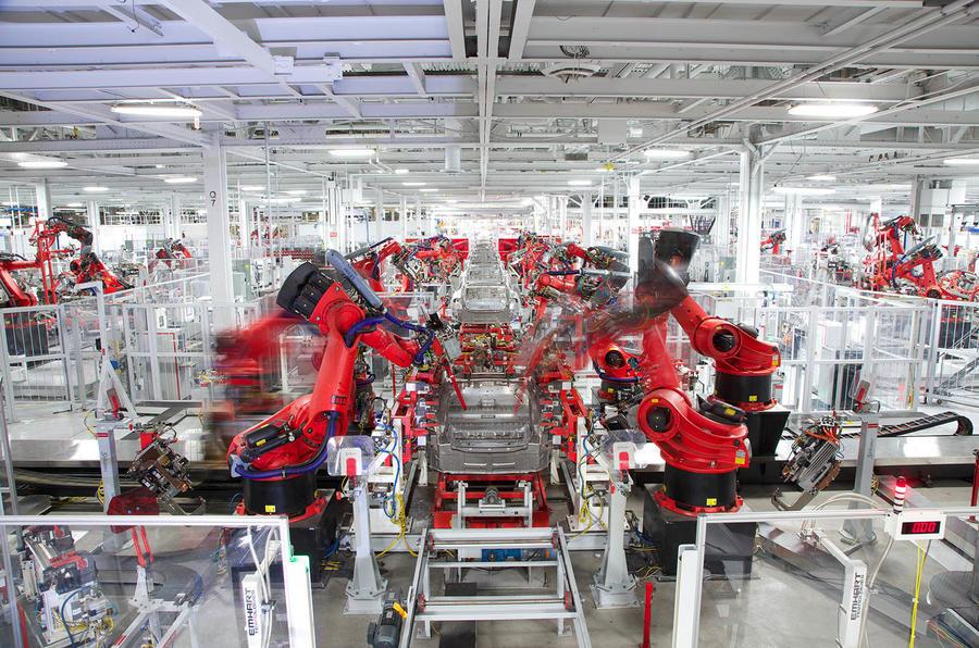 Tesla Fremont plant