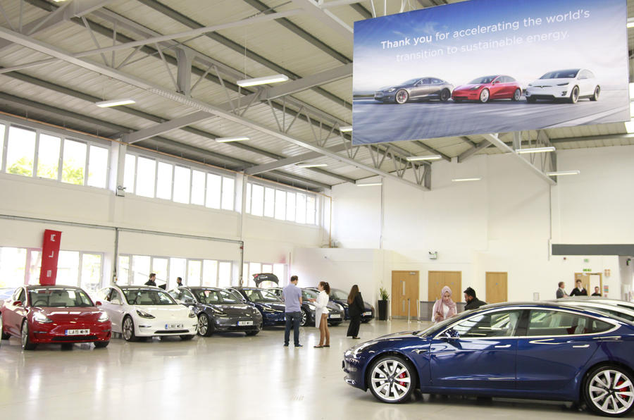 Tesla Model 3 deliveries
