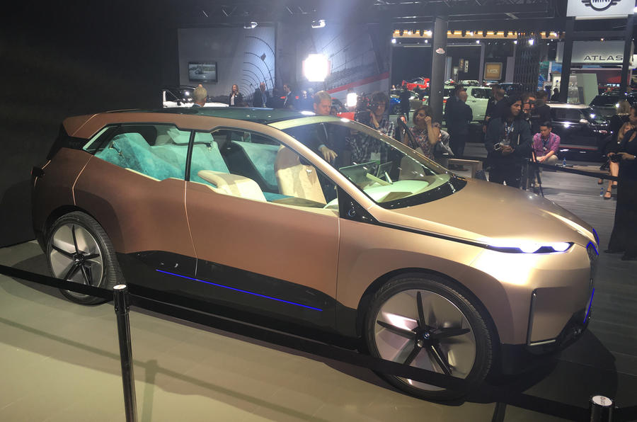 bmw inext  advanced electric suv begins testing