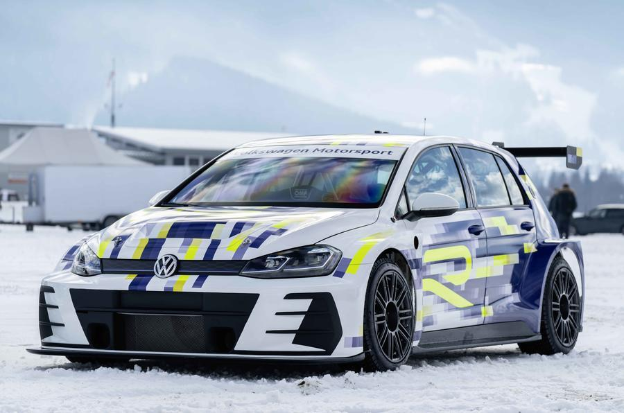Volkswagen Golf electric race car concept