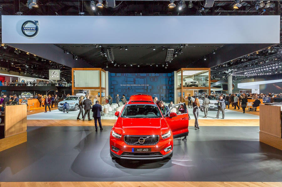 Volvo Dealership Los Angeles >> Volvo S Los Angeles Show Stand Doesn T Feature Any Cars