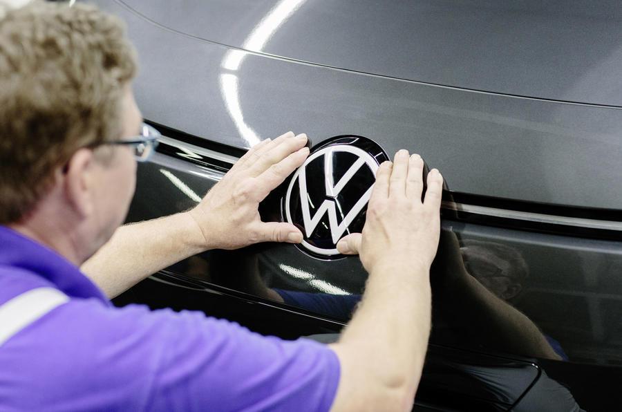 VW badge pic