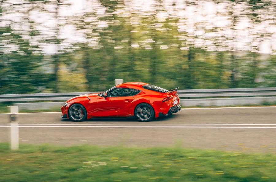 AC Schnitzer Toyota Supra 2020 first drive review - hero side
