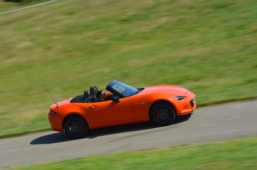 Mazda MX-5 - Best affordable driver's car winner - track
