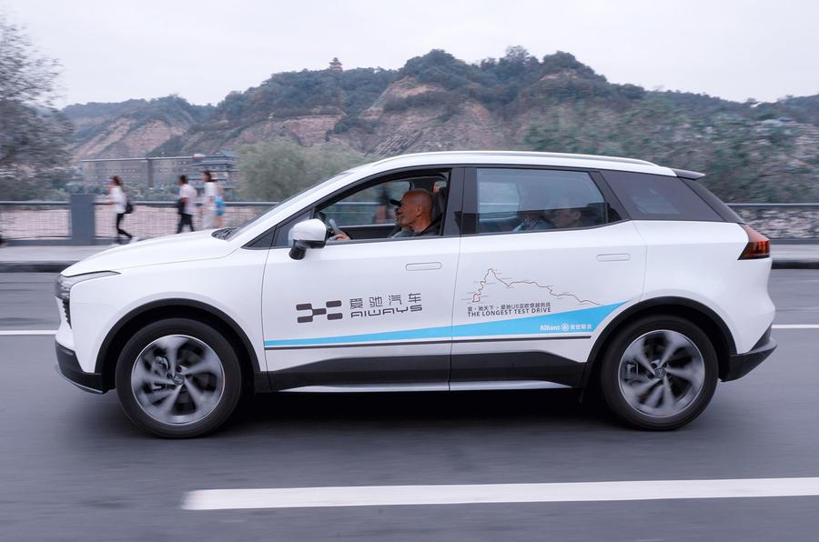 Aiways U5 2019 prototype drive review - hero side