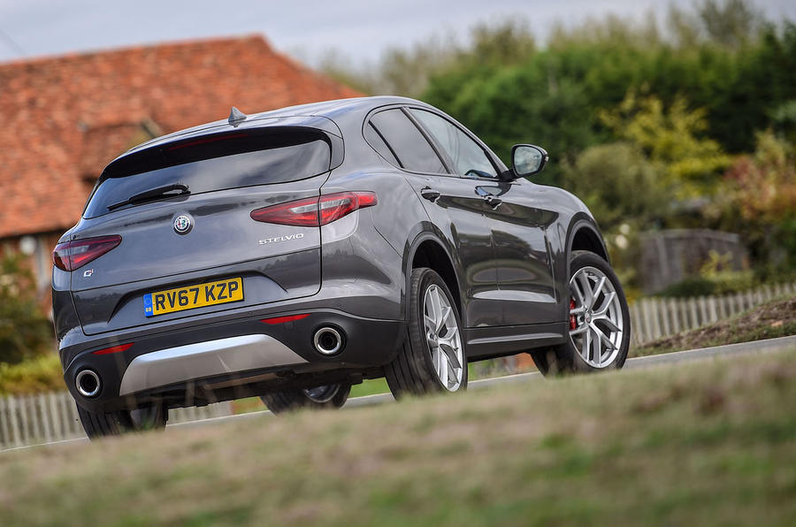 Alfa Romeo Stelvio Speciale first drive review - hero rear