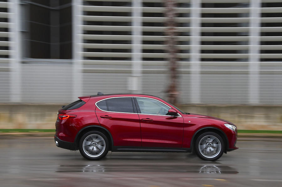 Alfa Romeo Stelvio Ti 2019 first drive review - hero side