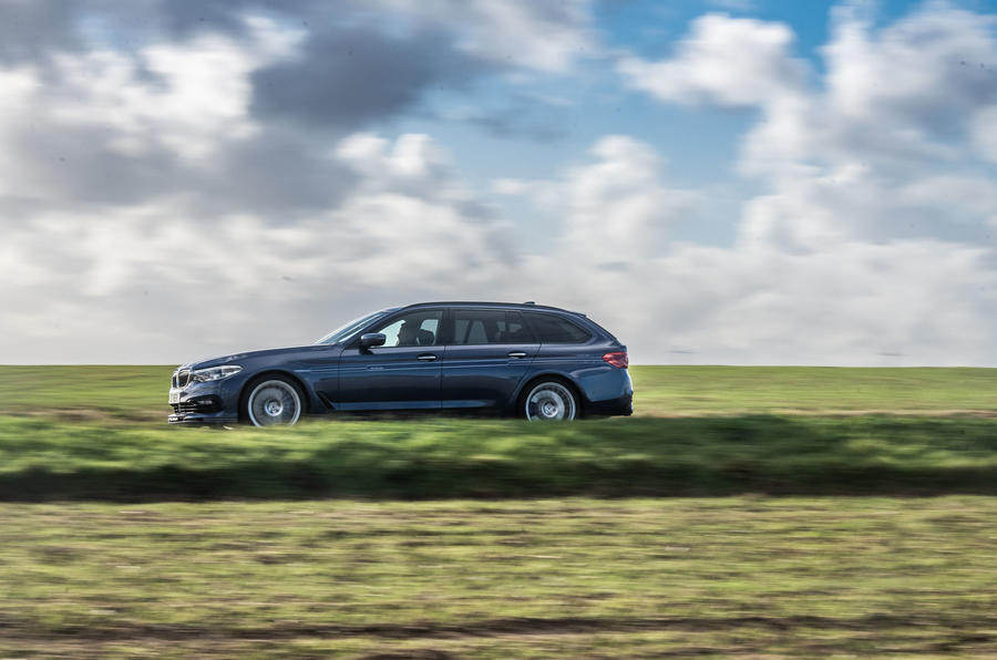 Alpina B5 Touring 2018 UK first drive review - hero side