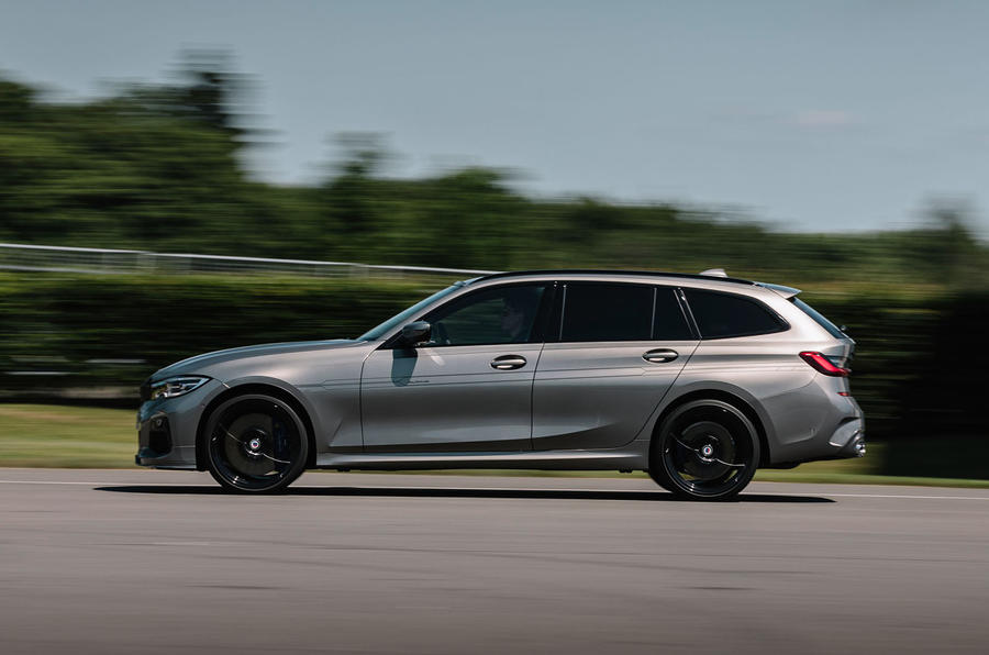 Alpina D3 S Touring 2020 first drive review - hero side