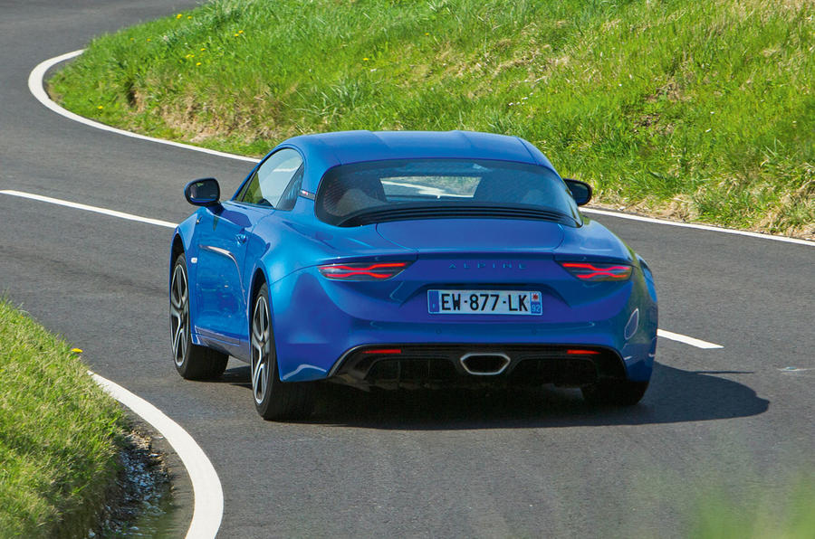 Alpine A110 2018 UK hero rear