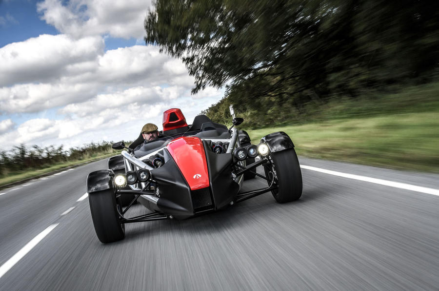Ariel Atom 4 2018 first drive review hero nose