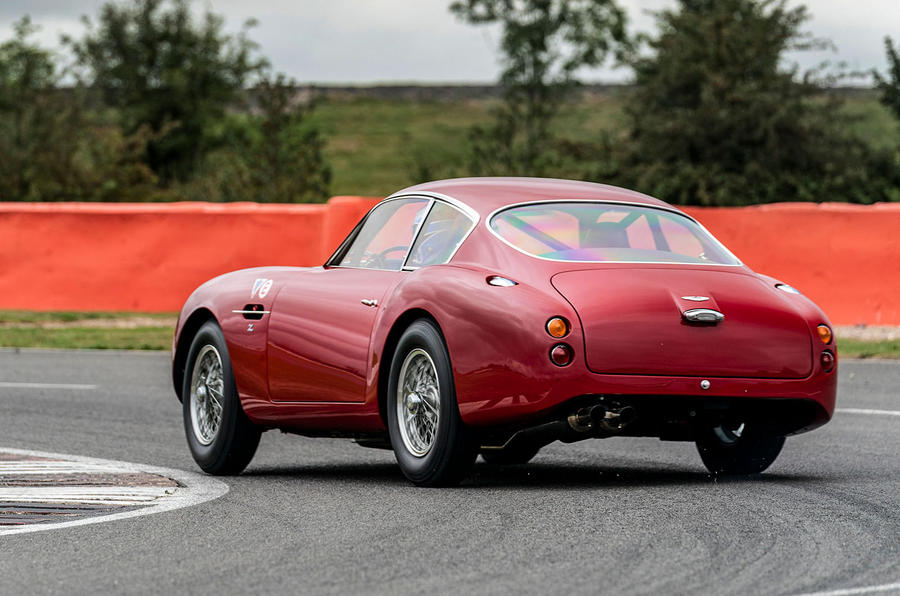 Aston Martin DB4 Zagato Continuation 2019 first drive review - hero rear