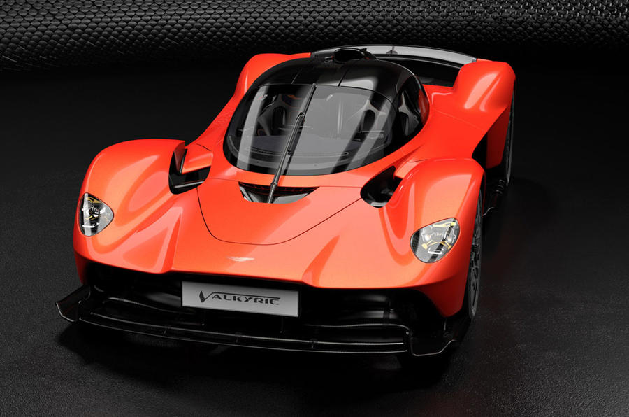 Aston Martin Valkyrie - static front