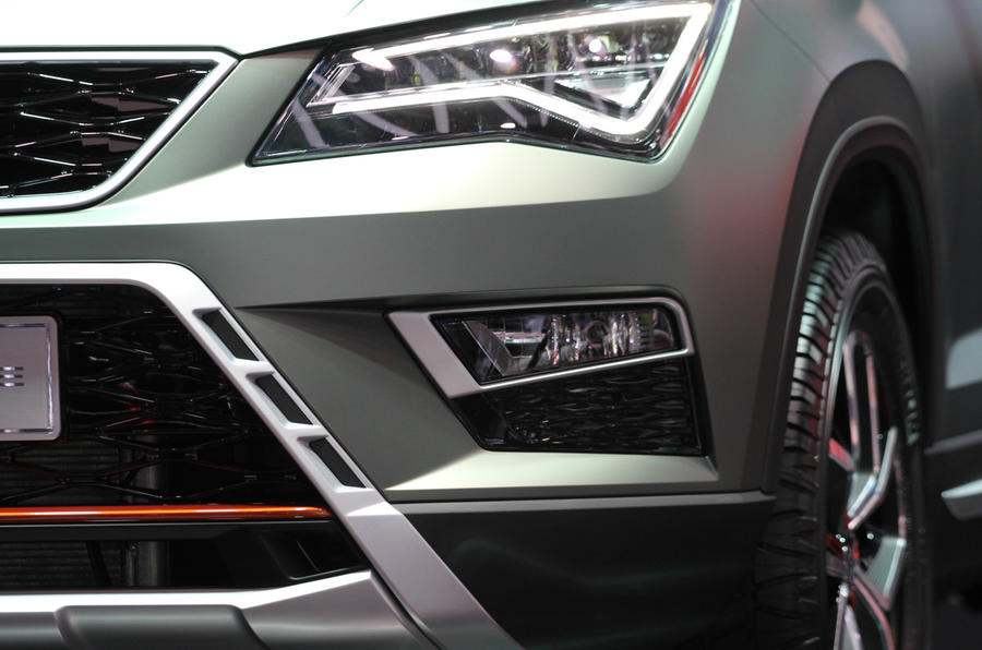 The front of the Ateca X-PERIENCE
