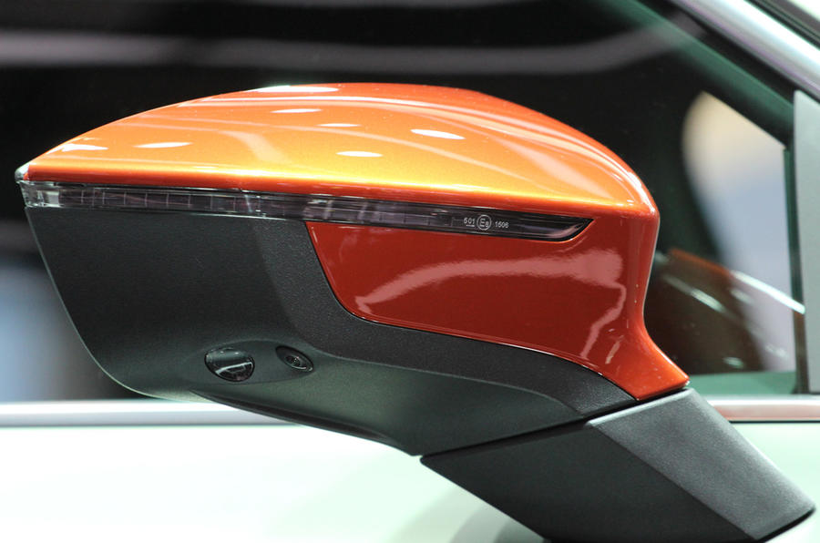 The Ateca X-PERIENCE features orange highlights