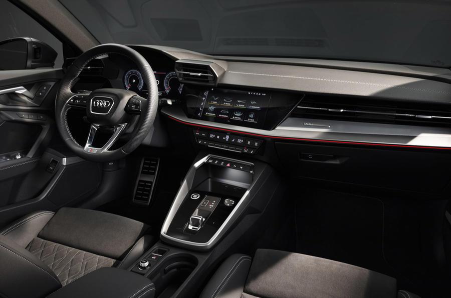 Audi A3 2020 - interior