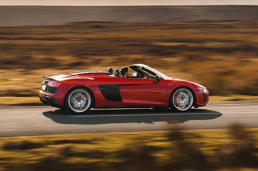 Audi R8 Spyder 2019 UK Review