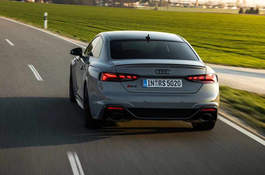 Audi RS5 Coupé 2020 first drive review - hero rear