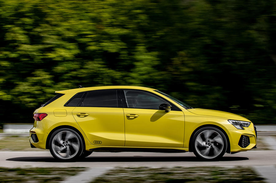 Audi S3 Sportback 2020 first drive review - hero side