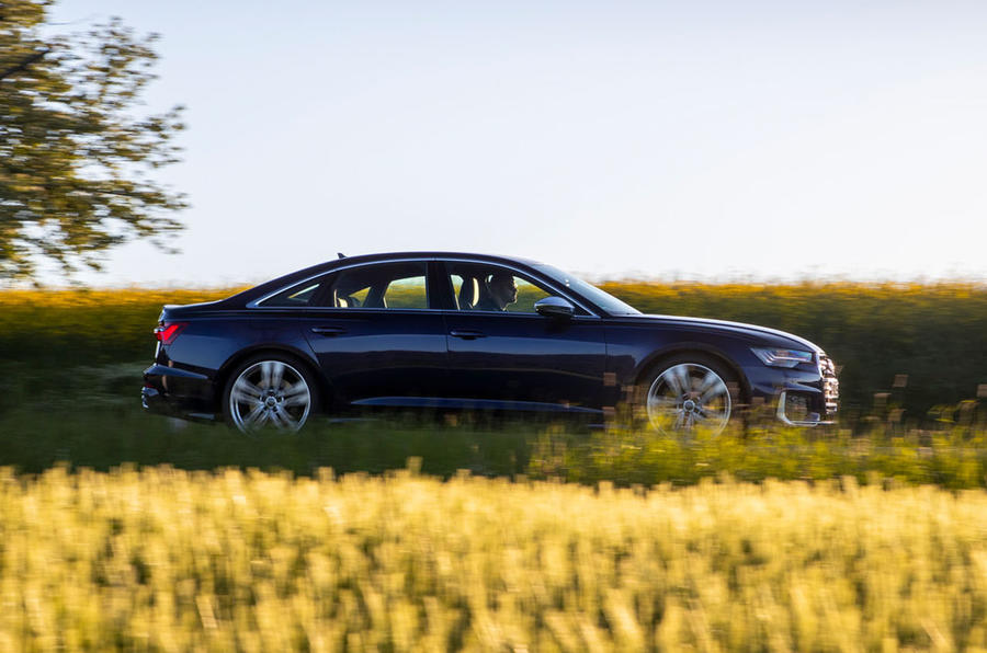 Audi S6 2019 first drive review - hero side