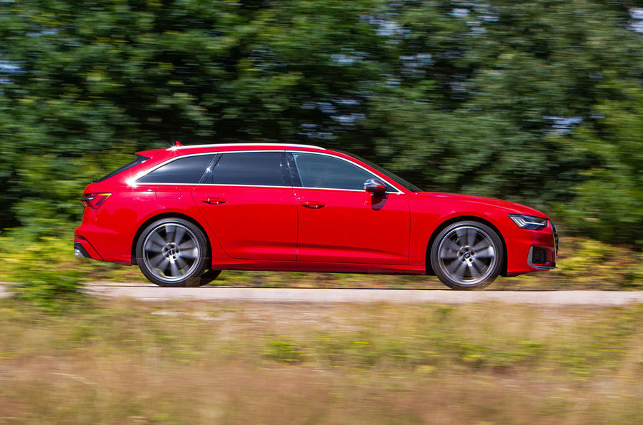 Audi S6 Avant TDI 2019 UK first drive review - hero side