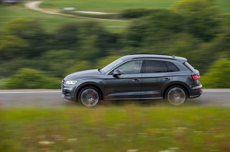 Audi SQ5 2019 first drive review - hero side