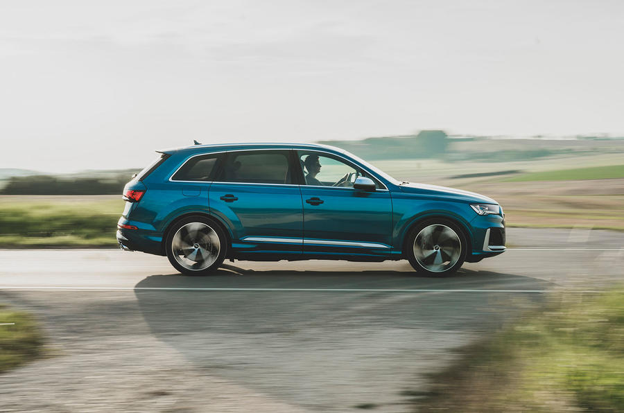 Audi SQ7 2020 first drive review - hero side