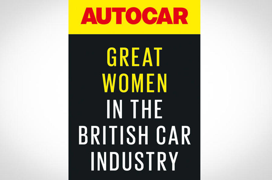 Autocar Great Women initiative logo
