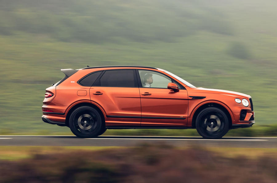 Bentley Bentayga 2020 UK first drive review - hero side