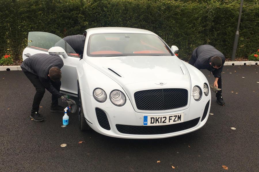 Bentley Continental - front