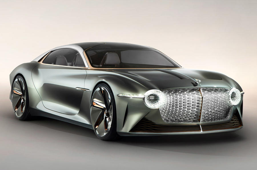 Bentley EXP 100 GT concept car - static front