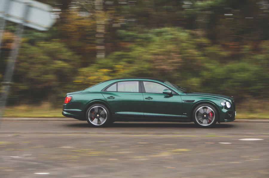 Bentley Flying Spur 2020 UK first drive review - hero side