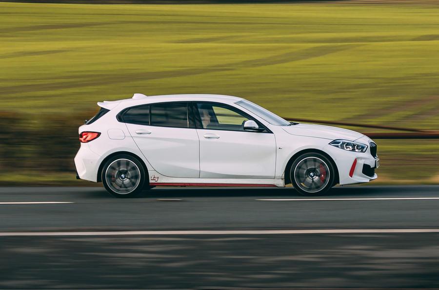 2 BMW 1 Série 128ti 2021 : le premier bilan de conduite au Royaume-Uni