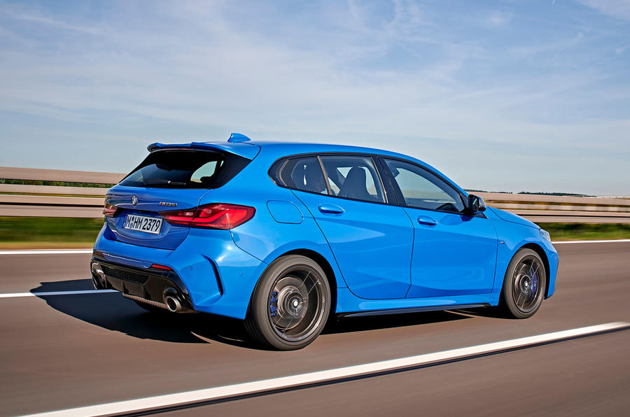 BMW 1 Series M135i 2019 first drive review - hero rear
