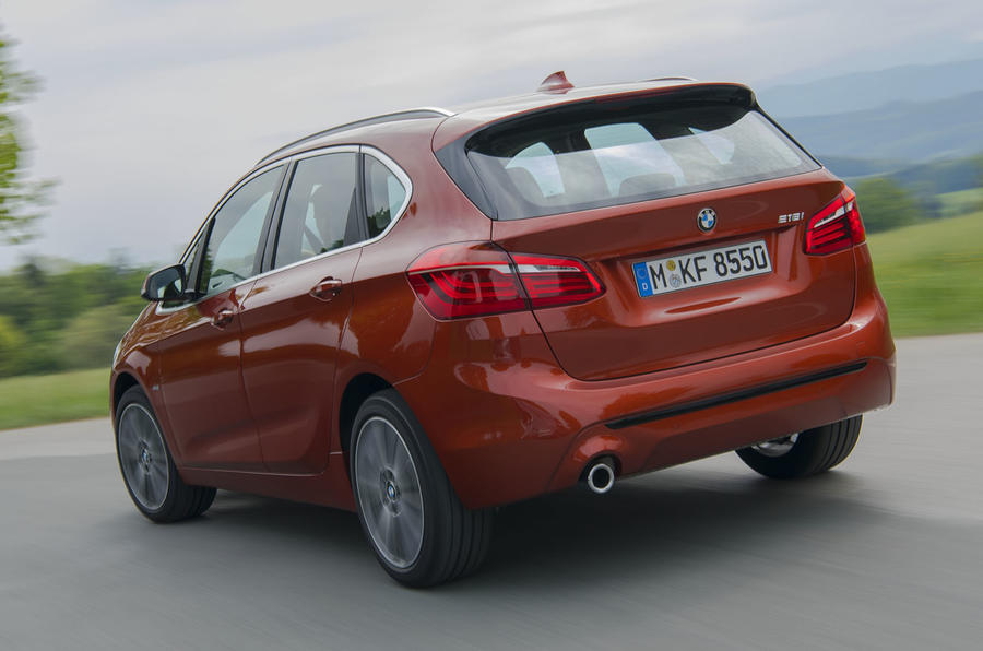 BMW 2 Series Active Tourer 2018 review hero rear