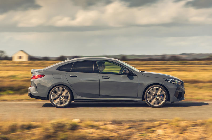 BMW 2 Series Gran Coupe M235i 2020 UK first drive review - hero side