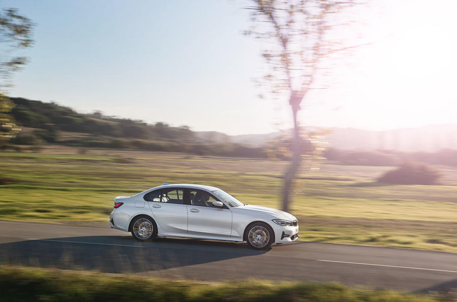 BMW 3 Series 320d Sport Line 2019 first drive review - hero side