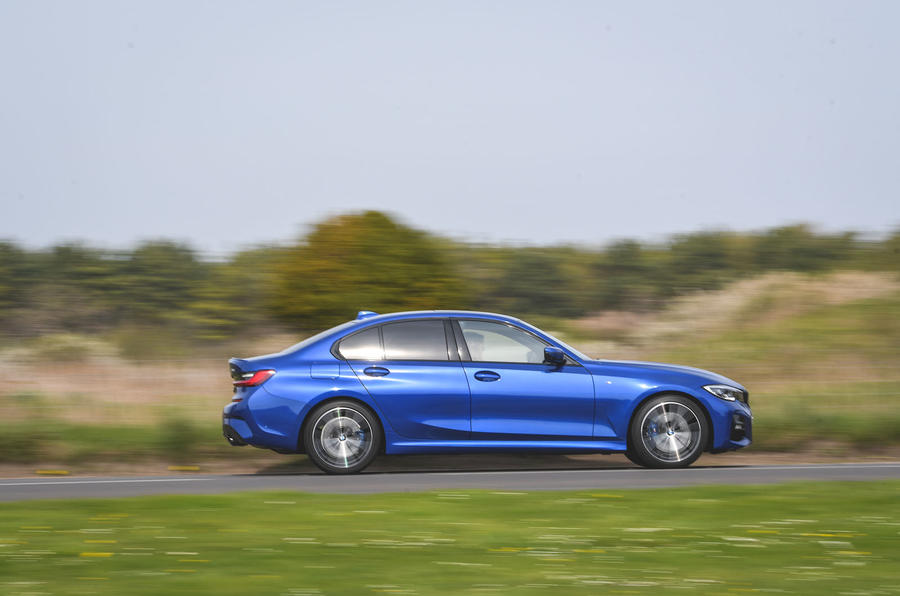BMW 3 Series 320d 2019 UK first drive review - hero side