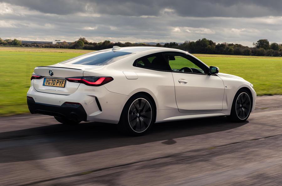 BMW Série 4 420d 2020 : premier bilan de conduite au Royaume-Uni - le héros à l'arrière