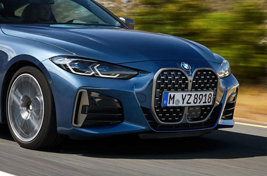 BMW 4 Series - grille