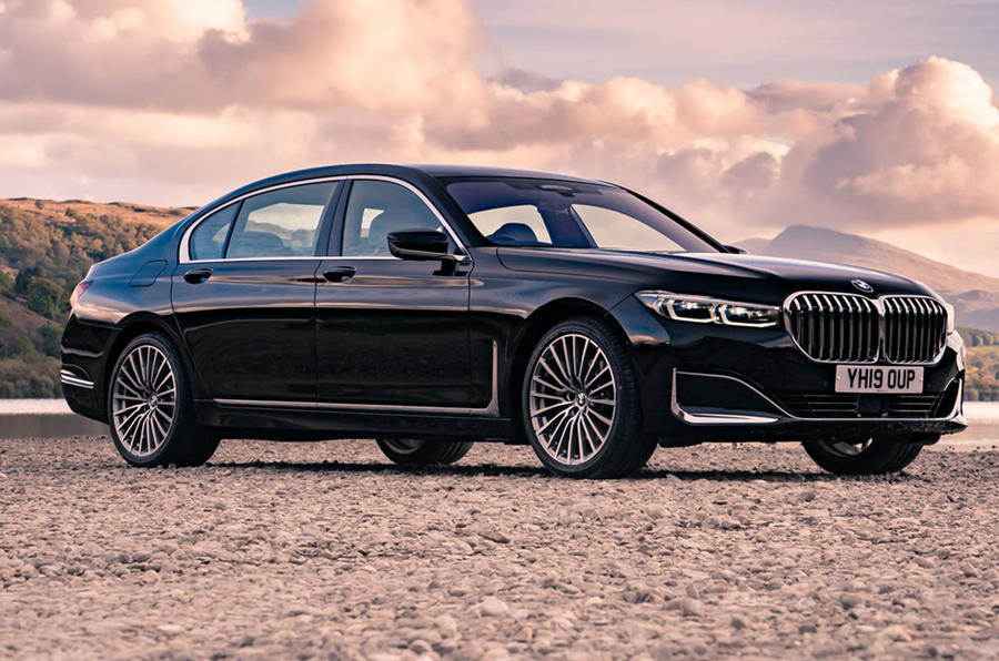 BMW 7 Series - static front