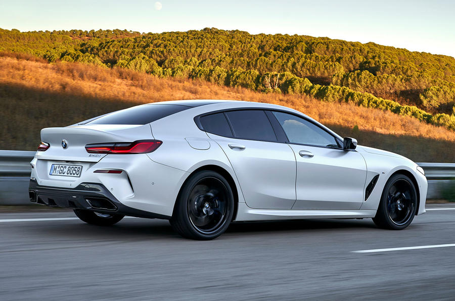 BMW 8 Series Gran Coupe 2019 first drive review - hero rear