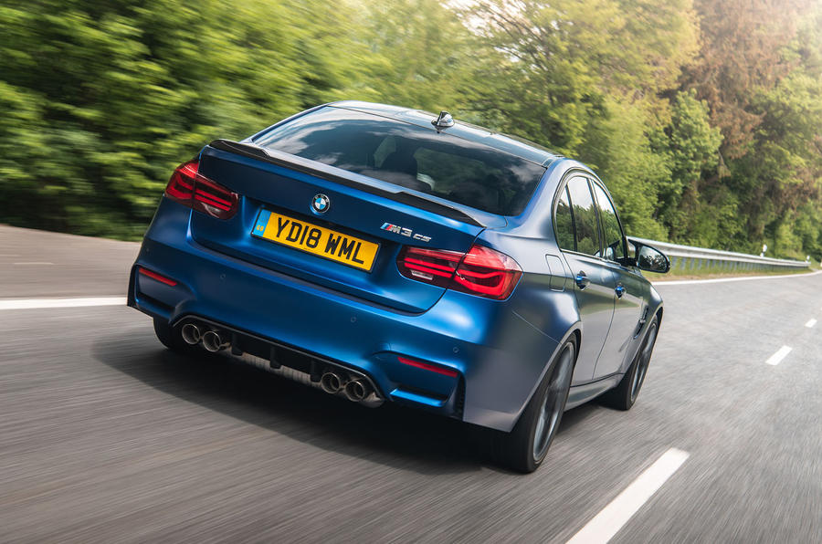 BMW M3 CS 2018 review hero rear